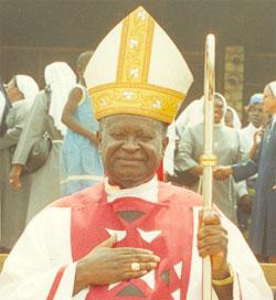 Archbishop Paul Verdzekov