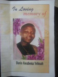 Funeral of Yeboah