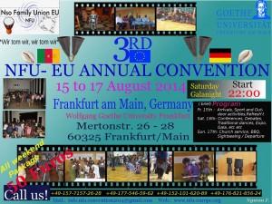 NFU Europe Flyer